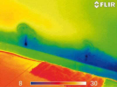 Thermal Imaging moisture thermal